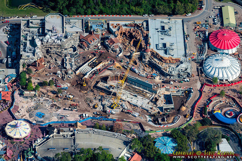 Fantasyland Expansion - March 2012<br /> Fantasyland Expansion project at the Magic Kingdom - March 2012