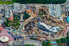 Fantasyland construction at The Magic Kingdom - August 2012