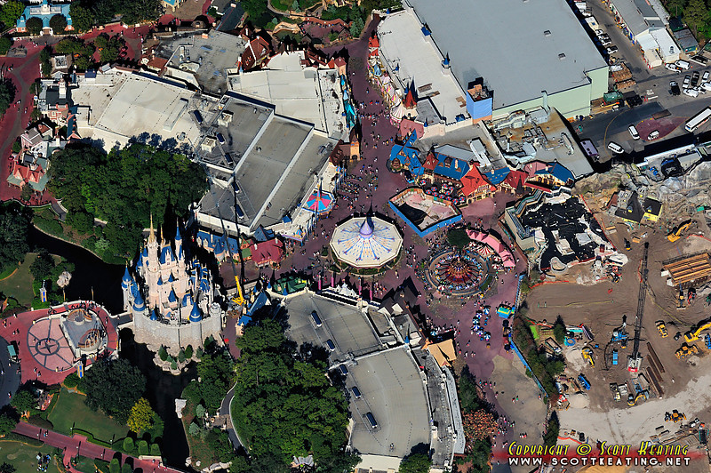 Fantasyland and Cinderella Castle - October '11