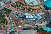 The Fantasyland expansion project at The Magic Kingdom, September 2012