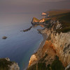 Sunrise near Durdle Door on the Dorset Coast