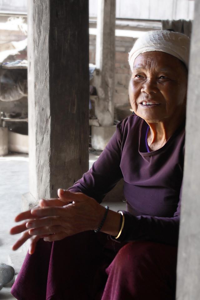 Dai 80 years old woman