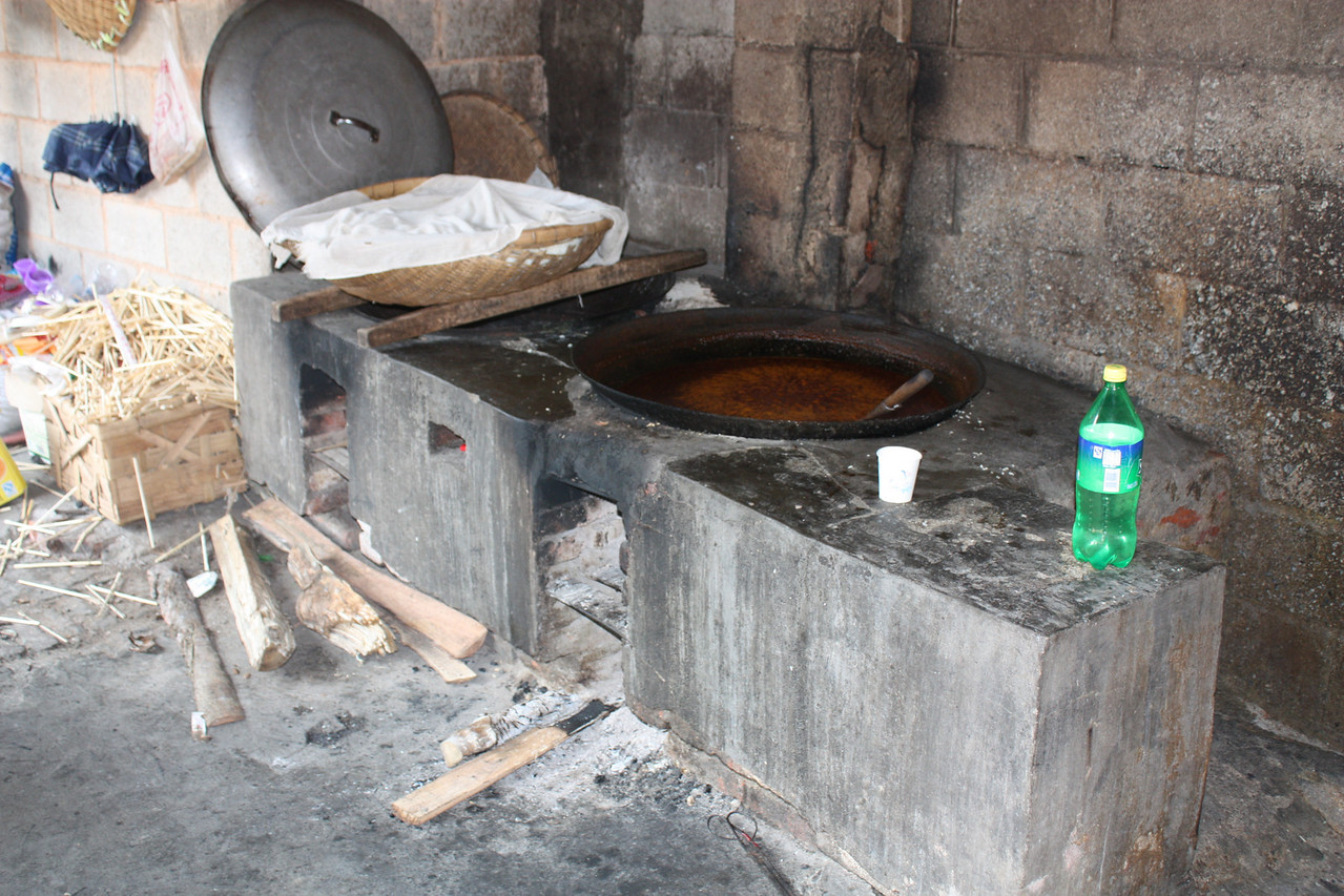 little restaurant on the road, spices cooking