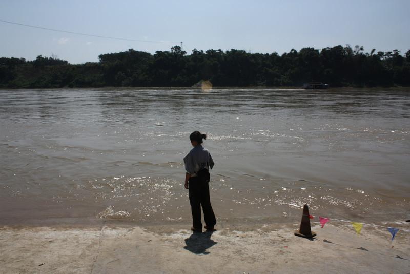 Ganlanba, looking at the Mekong