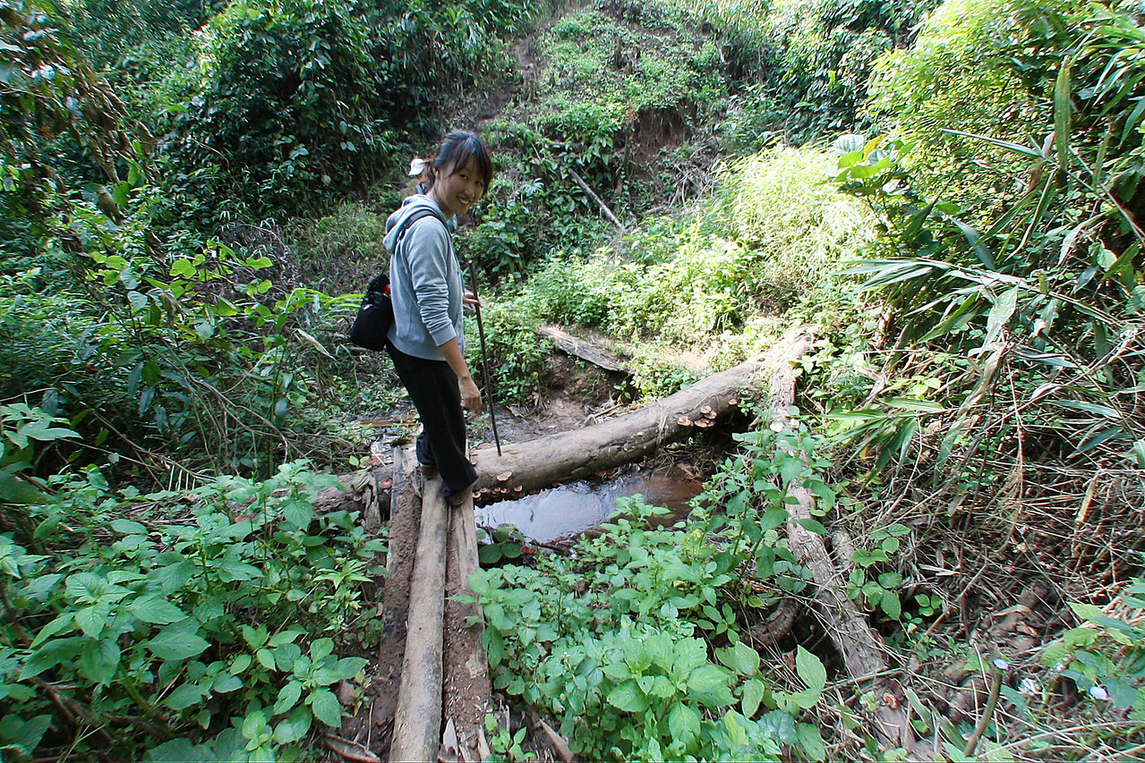 small river crossing