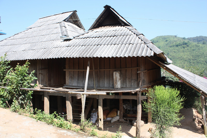 local villager's house
