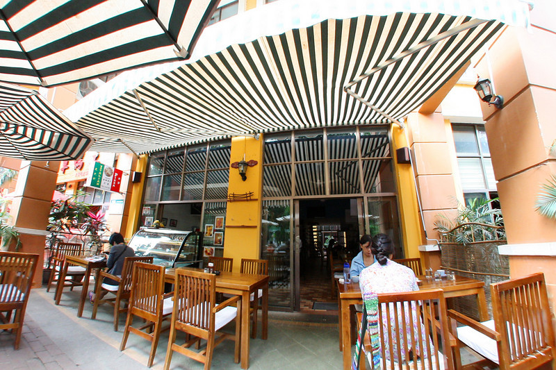 Jinghong, MeiMei cafe, our base of operations :)