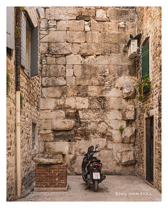 Diocletian's Private Parklng Space