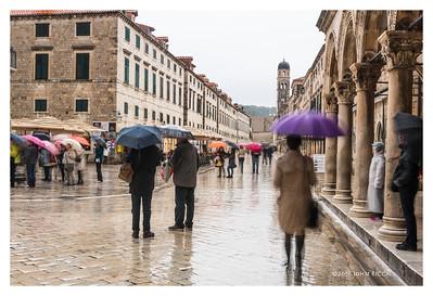 Dubrovnik In The Rain
