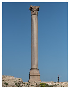 Selfie And Pompey's Pillar - Alexandria, Egypt