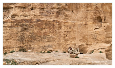 On A Break - Petra, Jordan