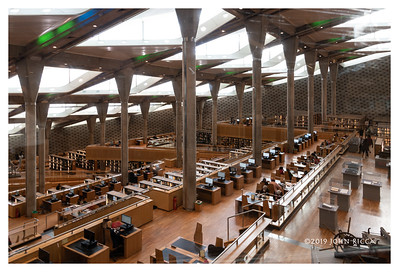 Alexandria Library Reading Room - Egypt