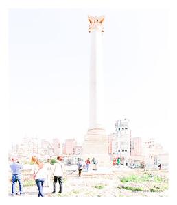 Pompey's Pillar - Alexandria, Egypt