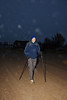 Ron Forseth begins his 155-mile walk in the sleepy town of Kanorado, Kansas. No paved roads here. Ron is walking in the mist on a dark gray morning. Temperature 43 degrees at 7 am. He is doing it for Brittany!