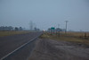 After leaving Kanorado, Kansas, Ron walks along the old Highway 24. It runs alongside I-70 for much of his journey.