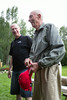 Jay Forseth and Fred Forseth prepare for prayer. Taken at the Forseth-Rozendal Family Reunion, Nathrop, Colorado, USA.
