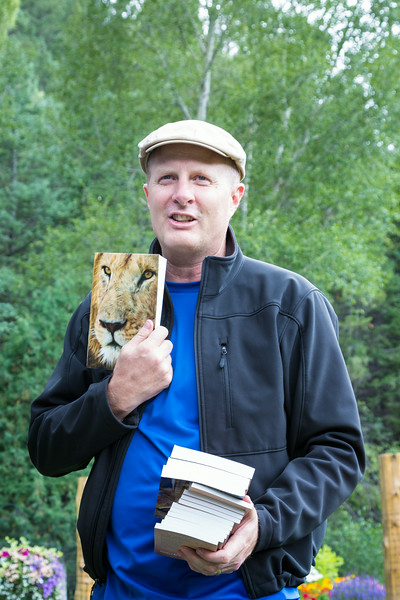 Ron Forseth took his entire company bonus this year and had Bibles printed. He handed out Bibles at the reunion and has been distributing them to people all over the world. The photo on the cover is a lion taken in the Masai Mara by Jan Forseth. Taken at the Forseth-Rozendal Family Reunion, Nathrop, Colorado, USA.