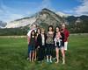 The Rozendals: Gabby, Jeff, Elizabeth, Jean, Debbie Seifert, Heidi Thomas, Juniper Thomas, and Tim Rozendal. Taken at the Forseth-Rozendal Family Reunion, Nathrop, Colorado, USA.
