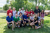After the picnic and volleyball match, we posed for a group photo. What a great time. Thanks again to all! Love you!