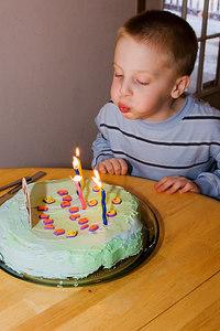 Aiden's Fifth Birthday
