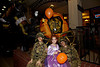 Our grandkids Jason, Shannon, and Aiden on Halloween 2011 on Main Street in Parker, Colorado, USA.
