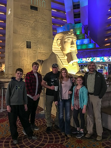"""At the Luxor"""