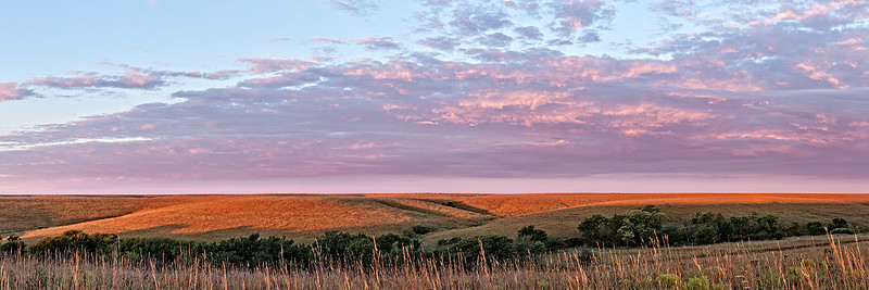 Flint Hills September Daybreak
