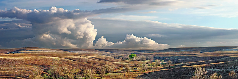 Flint Hills Clearing Spring Storm