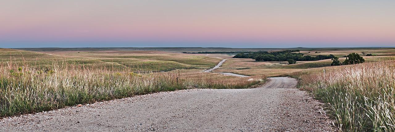 Battle Creek Road at Dusk