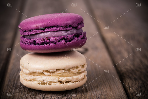 Assorted macaroons vintage