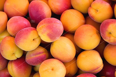 Apricots background