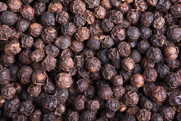 Peppercorns background