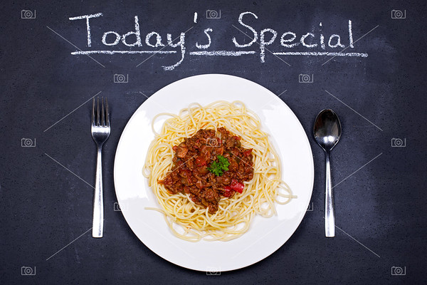 Spaghetti bolognese special