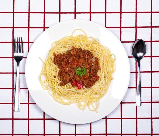 Spaghetti bolognese dinner