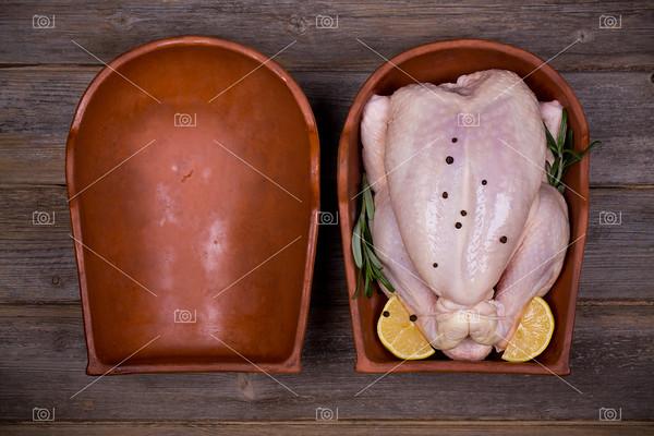 Chicken brick