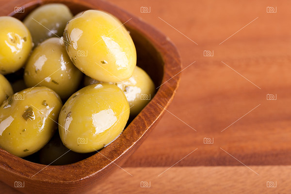 Olives closeup