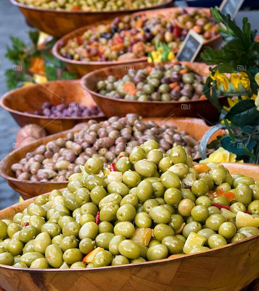 Olive display