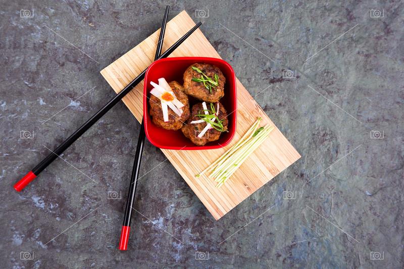 Asian meatballs 1