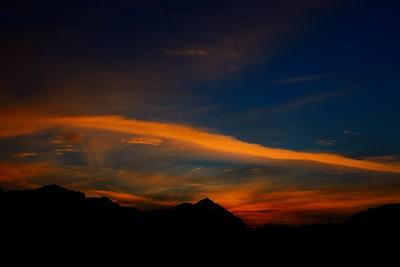 sunrise over Grigna range
