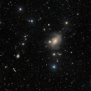 Unusual Giant Galaxy NGC 1316