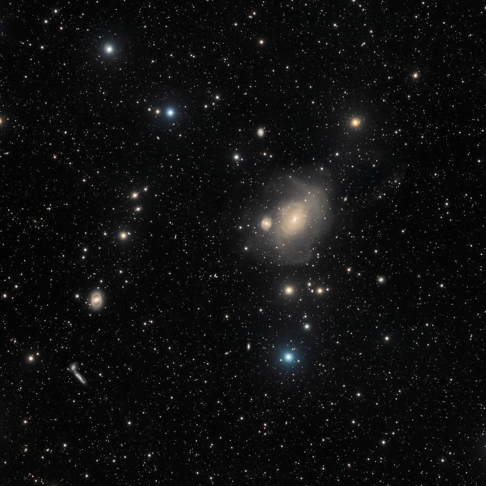 Unusual Giant Galaxy NGC 1316