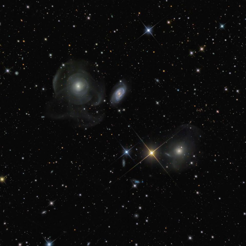 Shell Galaxies (NGC474 and NGC467)