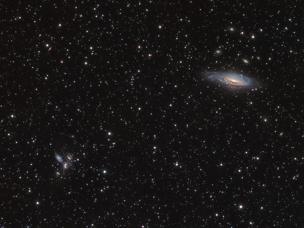 NGC 7331 & Stephan's Quintet