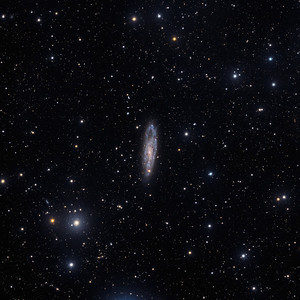 The needle's eye Galaxy (NGC 247)
