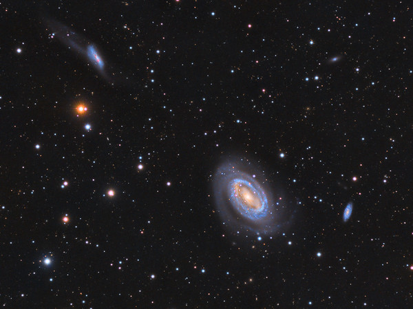 NGC 4747 (Arp 159) - NGC 4725 - NGC 4712