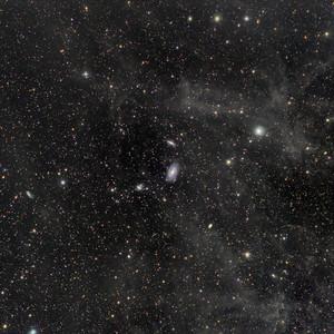 Integrated Flux Nebula around M81 and M82