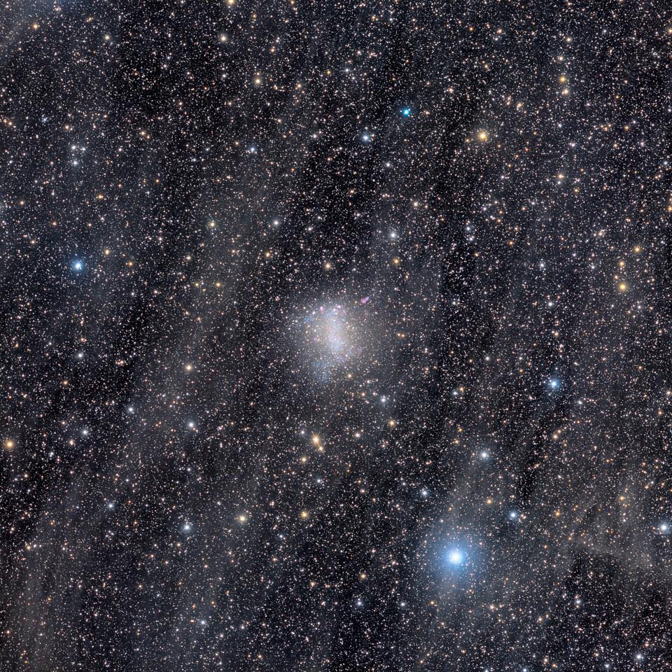 Barnard's Galaxy in the mist
