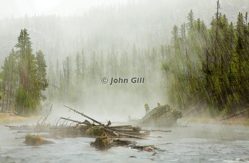Storm on the Firehole River