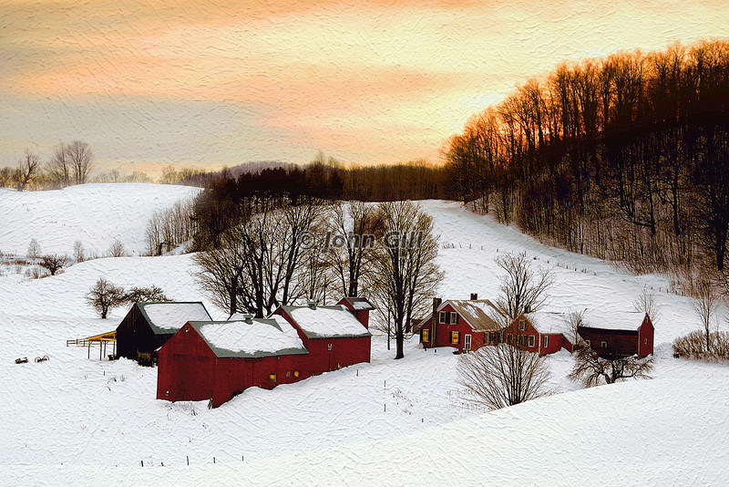 A Vermont Winter's Eve