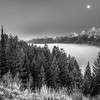 Teton Moonset 6554